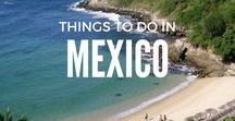 Things To Do   In Mexico / From the incredible sights of the Caribbean Sea in Tulum. To incredible spots like Cancun, Isla Mujeres, Playa Del Carmen, Oaxaca City and Puerto Escondido. Here's all the inspiration you need to travel Mexico / Mexico travel / Things to do in Mexico travel / Mexico travel places to visit / Mexico travel tips / Mexico / Mexico travel destinations / Mexico city / Mexico honeymoon travel packing lists / Solo travel, Backpacker, Wanderlust, travel blogger, travel pics, Where to go in Mexico