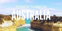 Things To Do   In Australia / From the awesome food of Melbourne to the bright lights of Sydney and Perth's incredible beaches. Here's all the inspiration you need to travel Australia.  Australia travel, Melbourne travel, Sydney travel, Perth travel / Adelaide travel / Queensland travel / Tasmania travel Australia travel beautiful pictures / Australia travel bucket lists / Australia travel road trips / Things to do in Australia bucket lists / Solo travel, Backpacker, Wanderlust, travel blogger, travel pics,