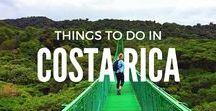 Things To Do   In Costa Rica / From the lush cloud forest of Monteverde, to the laid back Caribbean vibes of Puerto Viejo, the incredible national parks - Tortuguero, Cahuita and Manuel Antonio and all the volcanos. Costa Rica is a travelers paradise. // travel Costa Rica, Things to do in Costa Rica, Where to go in Costa Rica, Costa Rica travel