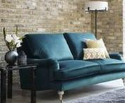 Velvet Sofas / Lusciously luxurious and sumptuously soft, velvet sofas are a big trend for 2018. Whether you choose a timeless classic or a modern update, make a statement with a bright, bold colour choice.