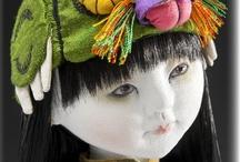 Poupées d'artistes textiles - Art Cloth Dolls