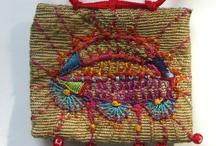 Arts textiles 2 panneaux etc... complets