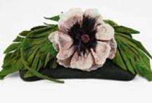 Création textile - pochettes - purses - / Et aussi clutches- aumônières - minaudières - sporrans - châtelaines