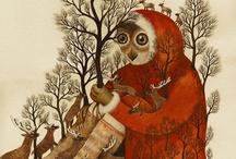 Illustrations contes et histoires - fairy tales