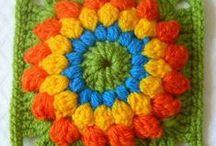 Crochet : Granny squares carrés et  e-books / Carrés au crochet - et e-books grannies à télécharger free