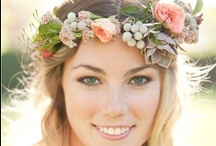 Brides hair style