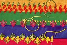TechniquesPoints Broderie - Embroidery stitches