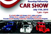 Colorado Classics Car Show / It's a family affair with burgers, brats, sodas, and prizes. Browse classics, antiques, vintage and street rod cars. Proceeds benefit Roundup Fellowship's Community Participation Program for adults with special needs.