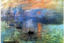 ART- Peintures - Impressionisme, pré et post / peintures impressionistes, pré et post-impressionistes origine le naturalisme, et suivent le fauvisme, les nabis ... / by éric imbert
