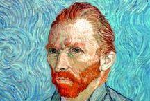 Vincent Van Gogh (1853-1890) / né le 30 mars 1853 aux pays-bas mort le 29 juillet 1890 à Auvers sur oise est un peintre et dessinateur néerlandais. Son œuvre pleine de naturalisme, inspirée par l'impressionnisme et le pointillisme, annonce le fauvisme et l'expressionnisme. / by éric imbert