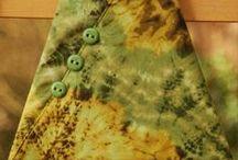 Vert Chartreuse- Olive - Pistache -Tilleul - Anis - Absinthe / Nuances de verts tirant sur le jaune