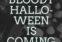 HALLOWEEN IS COMING / Gruppenboard für gruselige und schaurige Halloween Rezepte und natürlich auch Dekorationen