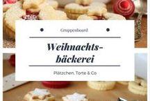 """Gruppenboard """"Weihnachtsbäckerei"""" / Alles rund ums Thema Weihnachten"""