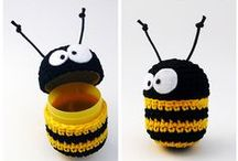 Bee Inspired / #Bee-themed arts and crafts. Try making something today!