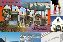 Things To Do In Orange County  / Orange County is one of the hottest destinations in California! Here's a collection of fun things to do there.  / by Jade and Danny