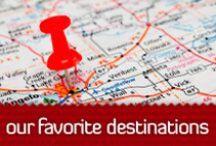 Our Favourite Destinations