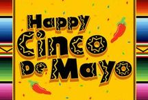 Cinco de Mayo / Add anything to this board pertaining to Cinco de Mayo and Mexico. Food, crafts, heritage, etc. If you would like to be added to this board please go to my add me board and leave a comment. Happy Pinning! / by Donna Swan
