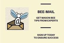 Bee-Mail / Featuring our archive of our monthly #Bee-Mail from January 2014 onward for your #masonbee success!