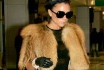 Star Power / Celebrities and their furs