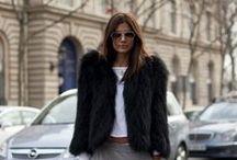 Street Chic / The crème de la crème of fur inspired street style