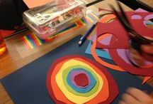 Teaching artist: International Dot Day / Celebrating International Dot Day with elementary students and very simple means.