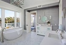 Beautiful Bathrooms / BCB shares images of beautiful bathrooms to help you get inspired.