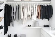 Clutter-Free Closets / Nothing satisfies the mind more than a clean, clutter-free closet.