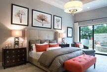 Master Bedroom / The wonderful elements of an inspiring Master Bedroom.