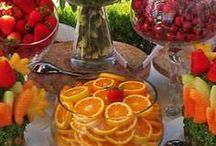 Fiestas y celebraciones / de todo tipo: decoración, bebida, comida...