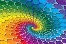 Colores / mezcla de tonos