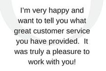 Testimonials / Praise from Oden's clients and ambassadors.