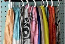 Ideas útiles / para organizar armarios, reciclar distintos materiales para decoración, y más cosas...