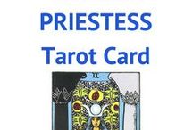 The HIGH PRIESTESS Tarot Card / This board is all about The High Priestess Tarot Card. Different decks, images, messages, interpretations of The High Priestess.
