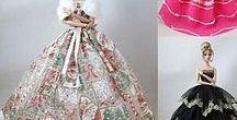 Muñecas - trajes fiesta