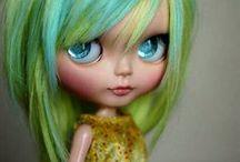Muñecos Blythe y Pullip