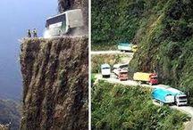 Carreteras y lugares peligrosos