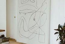 Kunst / Art Inspiration / Moderne Kunst und Wanddeko Inspiration, meistens abstrakt geometrisch, aber auch Portraits, Stillleben,... / Artworks, paintings, prints, general art inspiration and my own work as well...