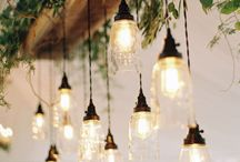Light Design / Home interior: pretty light design and lamp