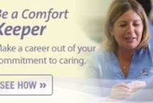 CNA Homecare Jobs - Philadelphia Suburbs / Certified Nursing Assistants Home Care Home Health Aides looking for employment in Delaware County PA, Montgomery, Chester or Philadelphia suburbs - Be a Comfort Keeper Caregiver