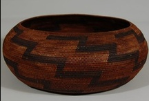 Native American Baskets / Basketry was among one of the first craft forms practiced by the Southwest Indian. Used for utilitarian purposes long before pottery, baskets were made to carry not only food but were tightly woven enough to carry water and cook in. The finely woven baskets of the Akimel O'odham (Pima), Tohono O'odham (Papago) and Western Apache are examples of how weavers incorporated beauty into their daily lives.  http://www.adobegallery.com/art/category-Southwest_Indian_Baskets
