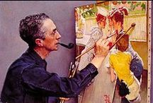 Norman Rockwell. / by Irin@ 🎨