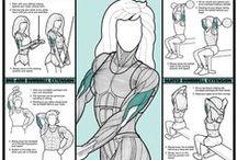 Workout! / series de ejercicios, rutinas y vida sana <3