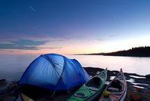 Camping adventure / camp & outdoor | escape - into the wild