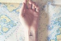 Tattoos - Inspired by travel / Get inspired by the selection of travel tattoos. Let your journeys leave a trace on your skin! Get inked :)