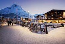 LECH AM ARLBERG! / Our outdoor lighting systems in Lech Am Arlberg.