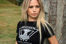 VIKING T-SHIRTS / Some of the clothes we have for the modern-day Viking. You can find them at www.grimfrost.com