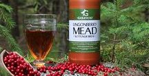 MEAD / Grimfrost's Mead has been developed together with Mjödhamnen, Sweden's largest and most distinguished mead producer. We take great pride in only using naturally obtained Swedish ingredients from carefully selected sources, which offers an authentic taste of Viking Age Sweden.  With our mead, we would like to invite You on a journey back to a time when mead was considered to originate from the gods.
