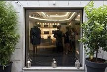 Flagship Store Rome / via Mario de' Fiori 9/10 - Rome, Italy.   Located right in the heart of the Eternal city, only steps away from the romantic Spanish Steps and the fashionable strip of via Condotti.