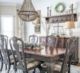 Dining Room Ideas / Here you will find inspiring Dining Room Ideas | Dining Room Makeovers | Dining Room Design | Dining Room Built-Ins | Dining Room Lighting | Dining Room Wall Treatments | Dining Room Organization | Dining Room Decor