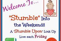 Stumble Into the Weekend / The weekly Stumble Upon Link Up